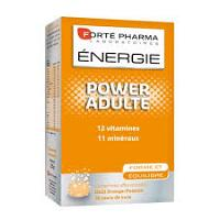 Forte pharma energie power adulte, 12 vitamines, 9 mineraux, 28 comprimes effervescents