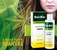 Natbioty Hairbio shampooing Antichute à l'huile de chanvre 200 ml