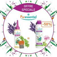Offre Puressentiel Anti Poux Offre Lotion 100ml + Peigne + shampooing Pouxdoux à -50%