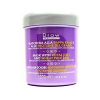 Draw Masque de Cheveux de Traitement Protéines de jale de royal et de blé 1000ml