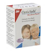 Opticlude mini/junior Patchs occlusifs de l'œil 20 pansements
