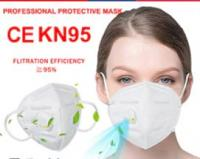 Masque  avec valve réutilisable KN95 scellé à l'unité