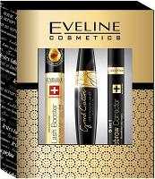 Pack Eveline Cosmetics ( Eyelash Bosster, Mascara Grand Couture, Correcteur Sourcils)