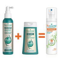 Offre Puressentiel Sérum anti-chute 200ml + Shampooing anti-chute 200ml = Spray assainissant aérien 75ml offert