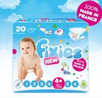 Fixies Couche Bébé Maxi+(de 9 à 20 Kg) 20 couches
