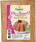 Primeal Préparation Bio Pour Flan au Chocolat pour 1/2 litre
