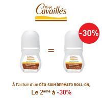 Rogé Cavaillès déodorants dermato roll on lotx2, 2 ème à -30%