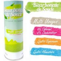 Bicarbonate de soude flacon doseur Multi-usages qualité supérieure 200g