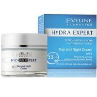 Eveline hydra expert jour et nuit choix d'age de 55 ans + (50 ml)