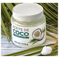 Huile de noix de COCO BIOExtra vierge qualité alimentaire 418 gr