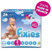 Fixies Couche Midi T- 3 (de 4 à 9 Kg) 24 couches