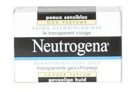 Neutrogena Savon Dermatologique le Transparent Visage Peaux Sensibles
