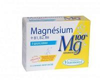 Magnésium + B1, B2, B6 (24 comprimés)