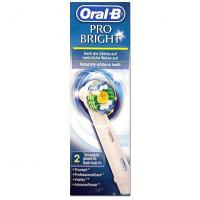 Oral-B pro-bright 2 brossettes de rechange