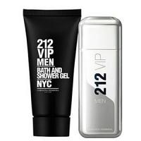 Coffret Carolina Herrera 212 VIP Men Eau de toilette 100ml + Gel douche 100ml