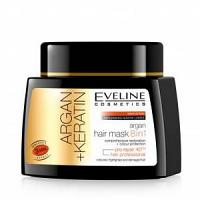 Eveline Argan+keratin masque cheveux 8in1 (3 min) 500ml