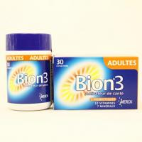 Bion 3 Adulte Probiotique + Vitamines et Mineraux Cps 30