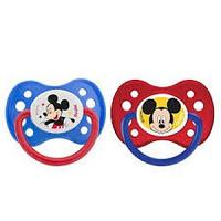 "Dodie Sucette +6 mois ""DUO MICKEY"" avec anneau N°A63"