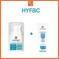 Hyfac Soin Global 40ml + Gel Nettoyant purifiant 40ml Offert