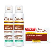 Offre pack Rogé Cavaillès Lot de 2 Déo-Soin Dermato Spray 150 ml + Savon Extra Doux 250 grs OFFERT