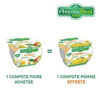 Pharmameal 1 compote poire achetée = 1 compote pomme offerte