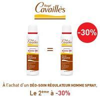 Rogé Cavaillès déodorant homme spray lotx2, 2 ème à -30%