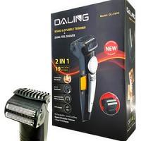 Daling tondeuse à barbe et visage double façe rechargeable DL-1018