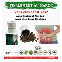 Natural sprint intégrateur naturelle en grains Nettoyage Colon-Laxatif naturel-Ventre plat-intestinal 90 comprimés