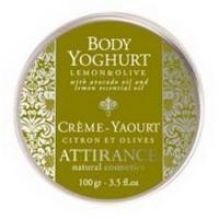 Attirance - Yaourt pour le corps citron et olives 100g