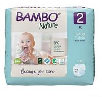 Bambo Nature Couches Taille 2 (3-6 KG /30 U)