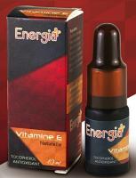 Energia+ Vitamine E Naturelle Tocophérol Antioxydant 10ml