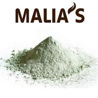 Malia's Argile Vert Visage et Corps 100% Naturelle et Pure Peaux Grasses - Mixtes 100G