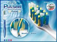 Oral B pulsar medium première brosse à dents à pulsations + etui de voyage gratuite