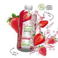 Bio seasons Bain moussant fraise certifié Bio 500ml