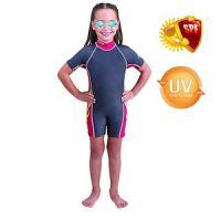Pack Bestway Maillot de bain + Lunettes de natation uv protect (5 à 6 ans)