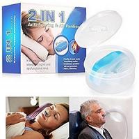Aide anti ronflement 2 en1 aération nasale pour un soulagement instantané du ronflement et un sommeil confortable